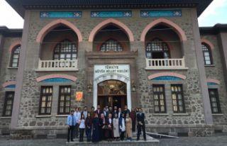 GÜNÖP üyeleri Ankara'yı gezdi