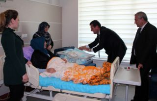 Şiran'da ilk sezeryanla doğum gerçekleştirildi