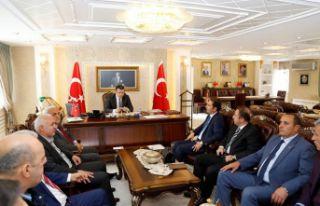 TANAP toplantısı Vali Memiş başkanlığında yapıldı