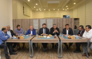 AK Parti'de geniş katılımlı SKM toplantısı...