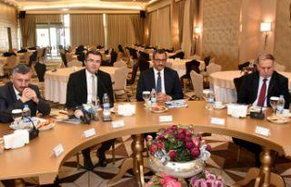 DOKA Yönetim Kurulu Gümüşhane'de toplandı