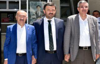 Gümüşhane Milletvekilleri Akgül ve Pektaş mazbatalarını...