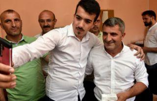 Gümüşhanespor'un yeni başkanı Kurban Karagöz...