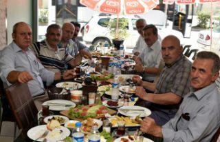 GÜSİAD yönetimi kahvaltıda buluştu