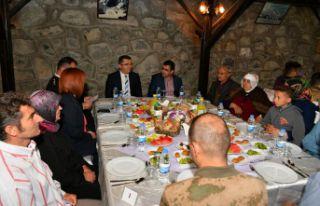 Jandarma'dan şehit aileleri onuruna iftar