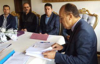Süleymaniye Ofisi'nde ilk yönetim kurulu toplantısı...