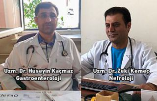 Gastroenteroloji ve Nefroloji poliklinik hizmeti verilmeye...