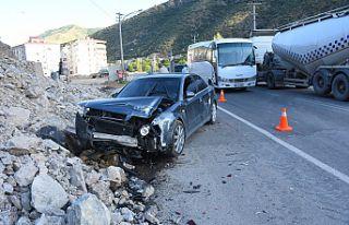 Gümüşhane'de trafik kazası: 3'ü çocuk, 7...