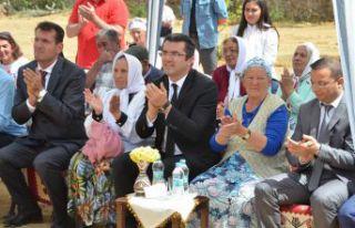 Şiran Yeniköy'de kültür evi açıldı