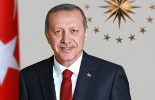 Cumhurbaşkanı Erdoğan Gümüşhane'ye teşekküre...