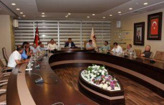 Belediye Meclisinden Orhan Aydoğdu'ya vefa