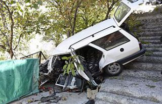 Gümüşhane'de feci kaza: 1 ölü