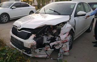 Gümüşhaneli aile Sivas'ta kaza yaptı: 4 yaralı