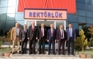 Doğu Karadeniz'in Rektörleri Gümüşhane'de