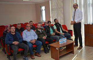 Gümüşhane TSO'da girişimcilik kursları başladı