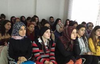 KYK öğrencilerine bağımlılıkla mücadele semineri...