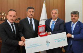 'Oyna-Öğren' projesi mansiyon ödülü aldı