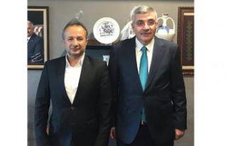 Tunç, Ünlüpınar Belediye Başkanlığına talip...