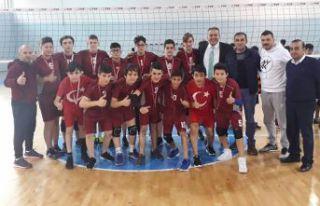Anadolu Yıldızlar Ligi Voleybol Grup Müsabakaları...