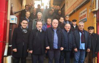 Demirel ve Ergin Belediye Meclisi üyeliği için...
