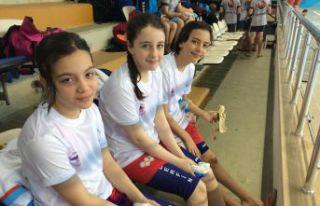Gümüşhane ilk kez bölge yüzme yarışlarında...