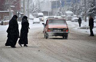 Gümüşhane'de yoğun yar yağışı 236 köy...
