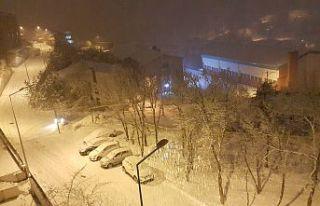 Gümüşhane'de okullara 1 günlük kar tatili