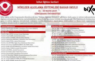 GÜ'de Nükleer Algılama Sistemleri Bahar Okulu...