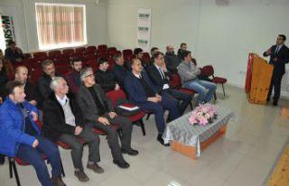 Torul ve Kürtün 'de Tarsim Bilgilendirme toplantısı...