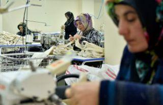 Gümüşhaneli kadınlar üreterek güçleniyor
