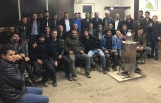 Kelkit'te AK Parti İl Genel Meclisi Üyeleri köy...