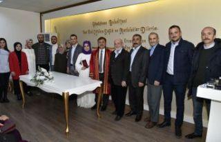 Belediye Başkanı Çimen, yeni dönemin ilk nikahını...