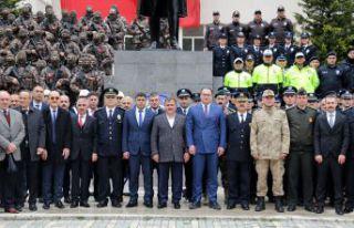 Gümüşhane'de Türk Polis Teşkilatının 174.kuruluş...