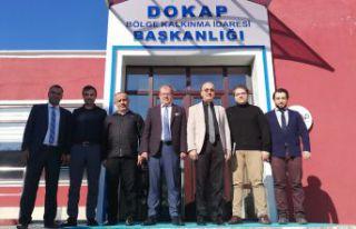 Rektör Zeybek, proje dosyasını DOKAP'a teslim...
