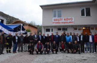 Geçit Köyü iftarının konuğu AK Parti oldu
