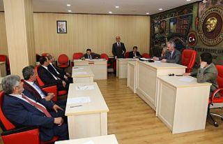 Gümüşhane İl Genel Meclisi'nin mayıs ayı toplantıları...