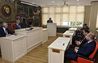İl Genel Meclisinin Mayıs ayı toplantıları devam...