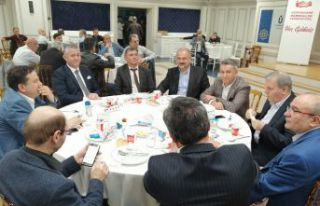 İstanbul'da Gümüşhaneliler GÜDEF'in iftar...