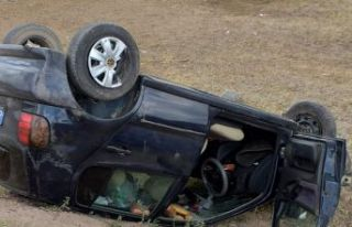 Kelkit'te trafik kazası: 1 yaralı