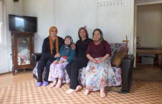 Kürtün'de yalnız yaşayan yaşlılara devletin...
