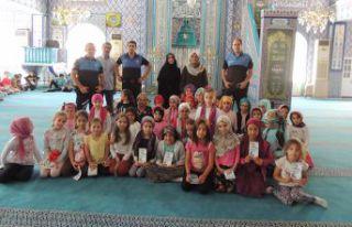 TDP görevlilerinde Kur'an kursu öğrencilerine...