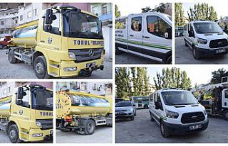 Torul Belediyesi'ne iki yeni araç