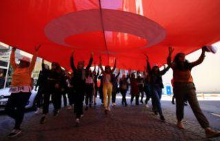 Gümüşhane'de 'Beraber yürüyelim' etkinliği