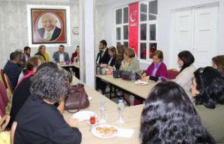 CHP Kadın Kolları Genel Başkanından Saadet'e...