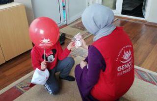 Gönüllü Gençlerden Sevgi Evlerine ziyaret