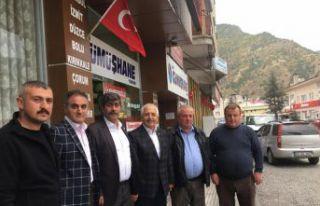 GTSO, Torul, Kürtün ve Özkürtün'ü bayraklarla...