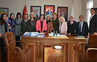 GTSO Kadın Girişimciler İcra Kurulu istişare toplantısı...