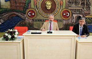 Gümüşhane İl Genel Meclisi'nin ekim ayı toplantıları...