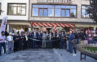 Divan Sofrası 29 açıldı
