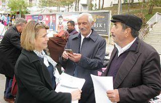 İYİ Parti Gümüşhane teşkilatı kadına şiddete...